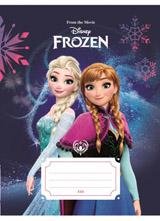 Sešit A5, 544, 40listů Frozen