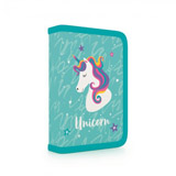 Penál 1 p. s chlopní, naplněný Unicorn iconic