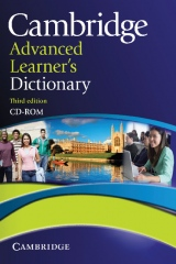 Cambridge Advanced Learner´s Dictionary Third Edition CD-ROM for Windows and Mac