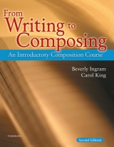 From Writing to Composing Student´s Book
