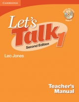 Let´s Talk Second Edition 1 Teacher´s Manual with Audio CD