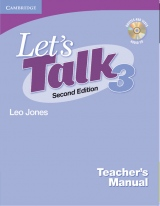 Let´s Talk Second Edition 3 Teacher´s Manual with Audio CD