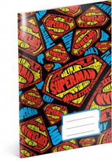 Školní sešit Superman – Shapes, A5, 40 listů, nelinkovaný