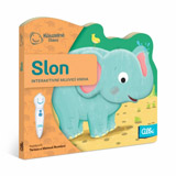 Kouzelné čtení Minikniha s výsekem - Slon