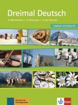 Dreimal Deutsch NEU, Lesebuch + Audio-CD