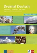 Dreimal Deutsch NEU, Arbeitsbuch + Audio-CD