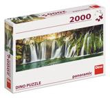 PLITVICKÉ VODOPÁDY 2000 panoramic Puzzle
