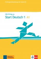 Mit Erfolg zu Start Deutsch A1, Übungs-u. Testbuch mit CD