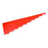 Červené tyče z bukového dřeva