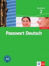 Passwort Deutsch 2. 3.dílný Kursbuch + 2 CD