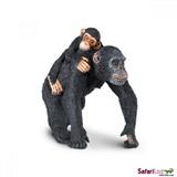 Šimpanz s mládětem