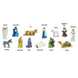 Tuba - Betlém (zvířata a osoby)