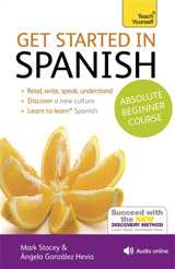 Get Started in Beginner´s Spanish: Teach Yourself : (Book and audio support)