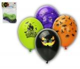 Balónky s potiskem 5ks OBYČ. Halloween