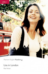 Pearson English Readers 1 Lisa in London Book + CD Pack