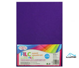 Filc A4 fialový LUMA