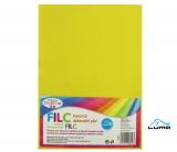 Filc A4 žlutý LUMA