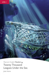 Pearson English Readers 1 20,000 Leagues Under the Sea Book + CD Pack