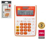 Kalkulačka DELI E1122 oranžová