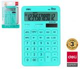 Kalkulačka DELI EM01531 MACARON modrá