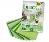 Papír KREATIV sada  Basic zelený