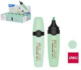 Zvýrazňovač DELI EU356-GN MACARON pastel zelený