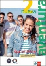 Aventura nueva 2 (A2-B1) – učeb. s prac. seš. + CD MP3