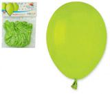 Balónky 10ks OBYČ. zelené světle