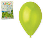 Balónky METAL zelené
