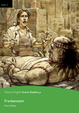Pearson English Active Reading 3 Frankenstein Book + mp3