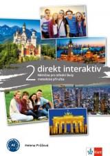 Direkt interaktiv 2 (A2-B1) – metodická příručka s DVD + kód