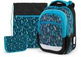 Školní set Indian blue