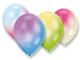 Balónky Duhové s potiskem 4 ks