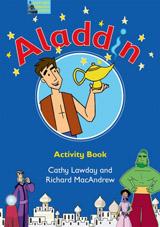 Fairy Tales Video Aladdin Activity Book