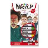 Obličejové barvy Mask Up 6 barev