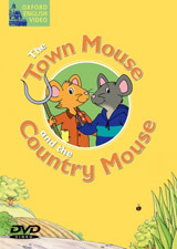 Fairy Tales Video The Town Mouse and the Country Mouse DVD výprodej