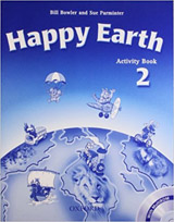Happy Earth 2 Activity Book and MultiROM Pack