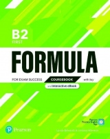Formula B2 First Coursebook with key with student online resources + App + eBook