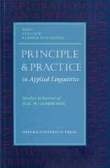 Oxford Applied Linguistics Principle and Practice in Applied Linguistics