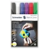 Akrylový popisovač Paint-It 310 2mm souprava 6 barev-V1