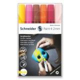 Akrylový popisovač Paint-It 310 2mm souprava 6 barev-V3