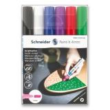 Akrylový popisovač Paint-It 320 4mm souprava 6 barev-V1