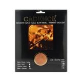 Imitace plátkových kovů Cadence Imitation metal leaf 25 x - copper měď