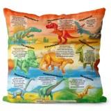 Polštář Encyklopedie Dinosaurů