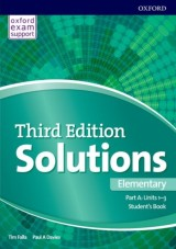 Solutions 3rd Edition Elementary Student´s Book A Units 1-3