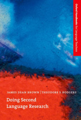 Oxford Handbooks for Language Teachers Doing Second Language Research
