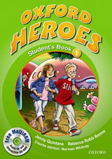Oxford Heroes 1 Student´s Book and MultiROM Pack