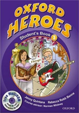 Oxford Heroes 3 Student´s Book and MultiROM Pack