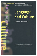 Oxford Introductions to Language Study Language and Culture