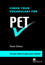 Check Your Vocabulary for PET SB